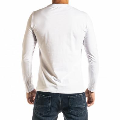 Мъжка бяла блуза Jeans Sport it300920-46 3