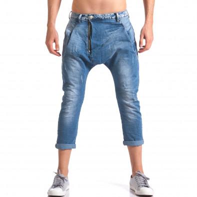 Мъжки дънки с големи яки джобове отпред ca110215-33 2