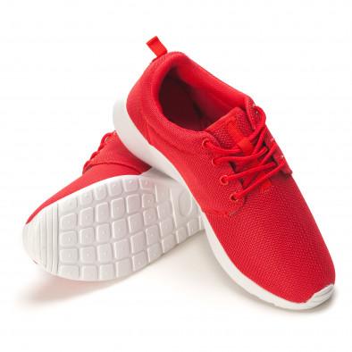 Мъжки червени летни маратонки it090616-24 4