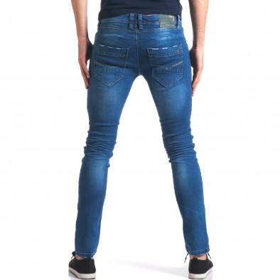 Мъжки сини дънки класически модел it250416-26 3