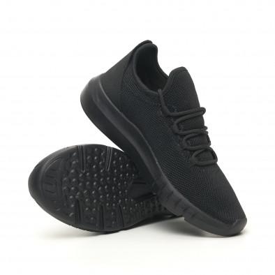 Леки мъжки маратонки All black it041119-4 4