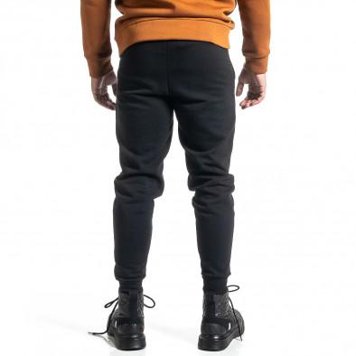 Basic мъжко памучно долнище в черно it231220-32 3