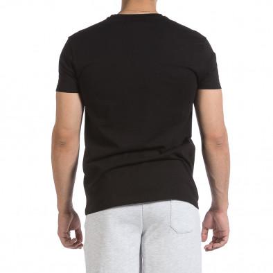Мъжка черна тениска Givova it040621-19 3