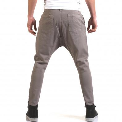 Мъжки сиви дънки с кройка на потури it090216-20 3