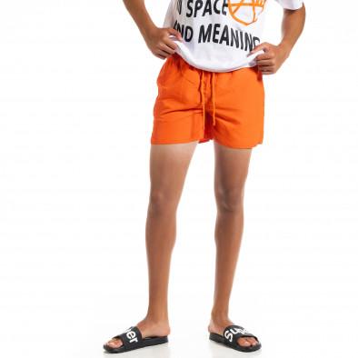 Basic мъжки оранжев бански it010720-36 2