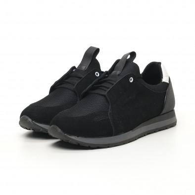 Мъжки маратонки черно и сиво tr180320-31 3