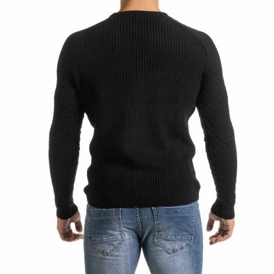 Мъжки пуловер с реглан ръкав на ромбове it301020-16 4