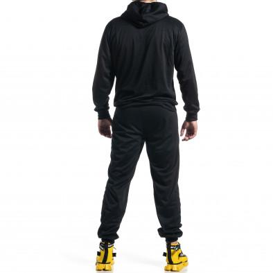 Мъжки черен спортен комплект Big Size it270221-54 4