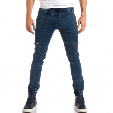 Мъжки дънки с ципове на джобовете it160916-6 2