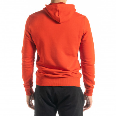 Basic мъжки червен суичър тип анорак tr020920-33 3