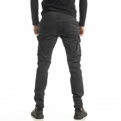 Мъжки сив Cargo панталон с прави крачоли tr180121-2 3