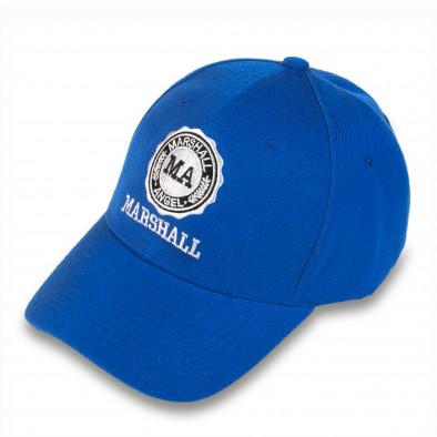 Мъжка синя бейзболна шапка Marshall 4