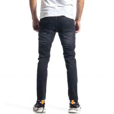 Мъжки черни дънки Destroyed tr010221-33 3