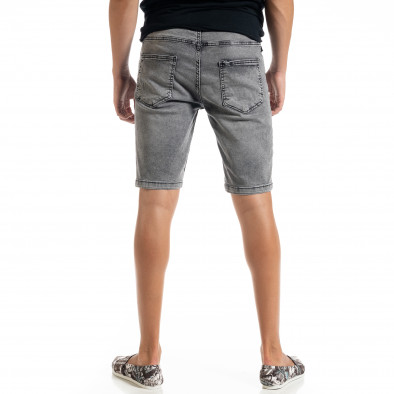 Big Size Basic мъжки сиви къси дънки tr010720-19 3