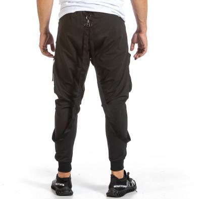 Hip Hop черно долнище с обемни джобове it240621-37 3