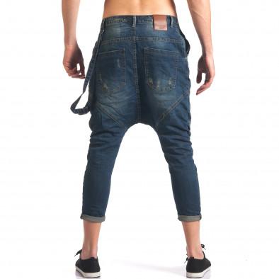 Тъмно сини мъжки дънки потури Always Jeans 5