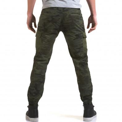 Мъжки панталон тъмно зелен камуфлаж it090216-11 3
