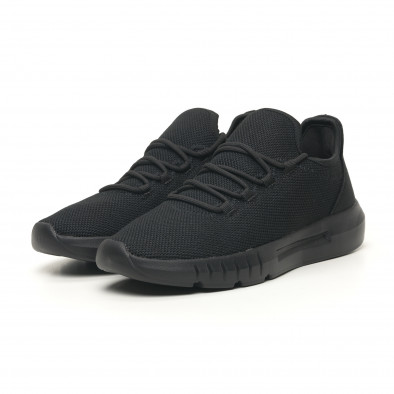 Леки мъжки маратонки All black it041119-4 2