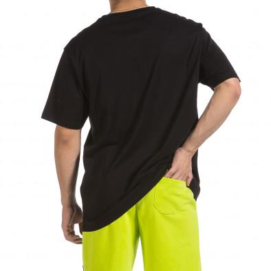 Мъжка черна тениска Givova Big Size it040621-17 4