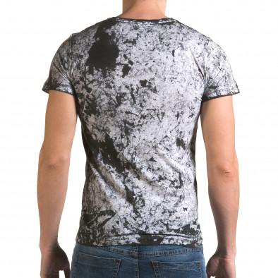 Мъжка сива тениска с орел il120216-47 3
