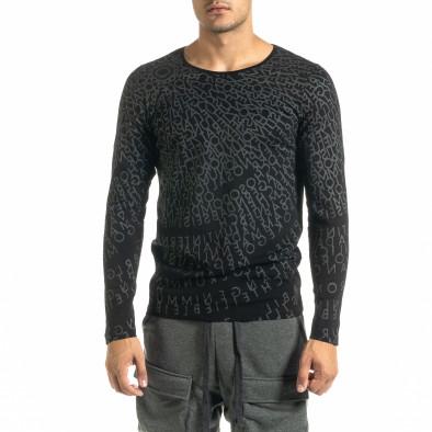 Мъжка черна блуза Melancholy tr020920-55 2