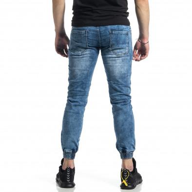 Мъжки сини дънки тип Jogger  gr270221-7 3