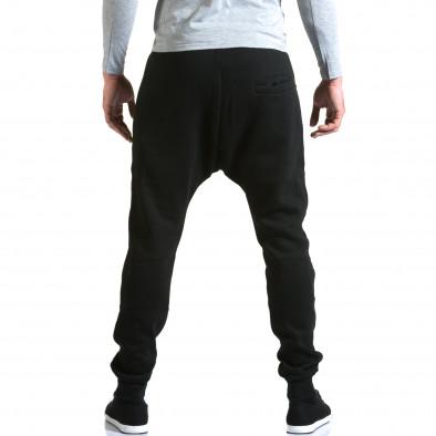 Мъжки черни потури с хоризонтални шевове it211015-57 3