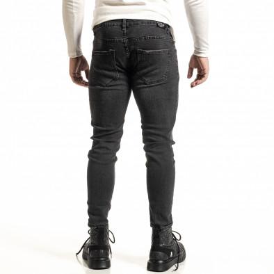 Черни дънки с леко избелял ефект Capri fit it231220-24 3