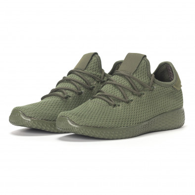 Мъжки зелени леки маратонки All-green it240418-7 3
