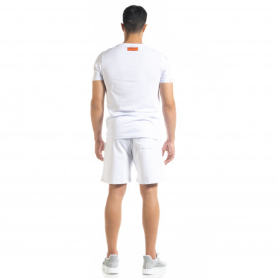 Бял мъжки спортен комплект Airplane tr010720-8 3