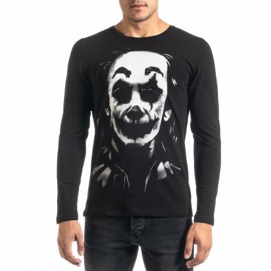 Мъжка черна блуза JOKER tr020920-53 2
