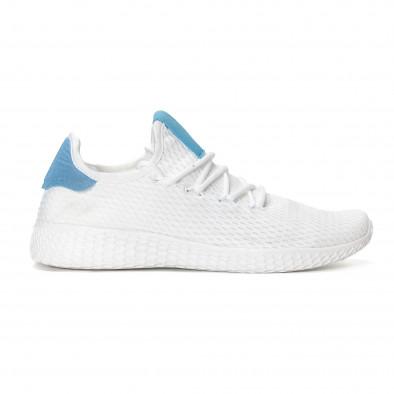 Мъжки синьо-бели леки маратонки  it240418-27 2