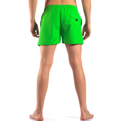 Мъжки зелени бански с Американското знаме it150616-28 3