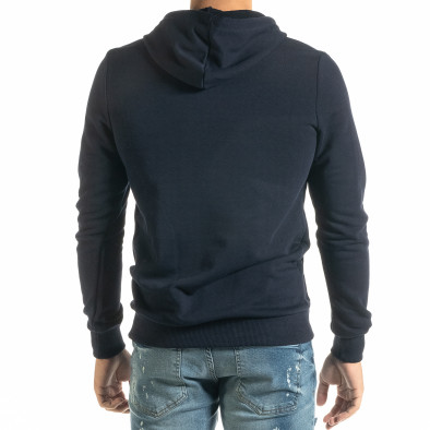 Basic мъжки син суичър тип анорак tr020920-31 3
