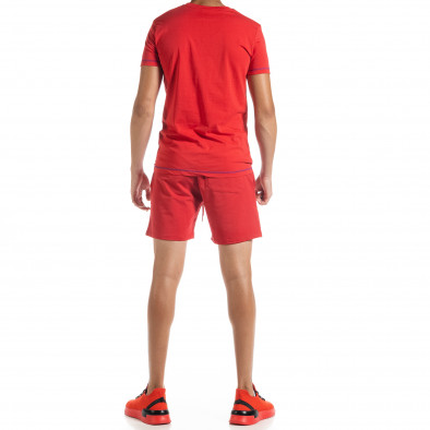 Червен мъжки спортен комплект Compass tr010720-4 3