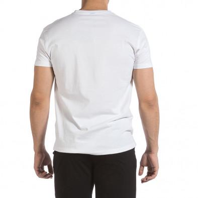 Мъжка бяла тениска Givova it040621-18 3
