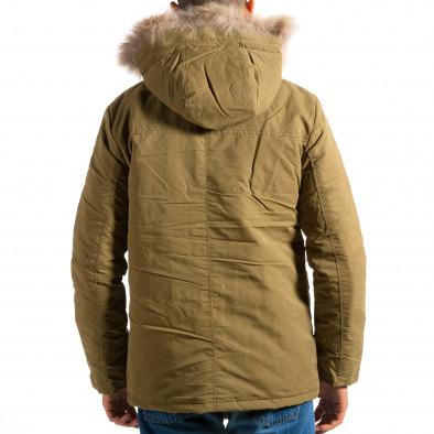 Мъжко зелено яке с големи джобове ca161014-8 3