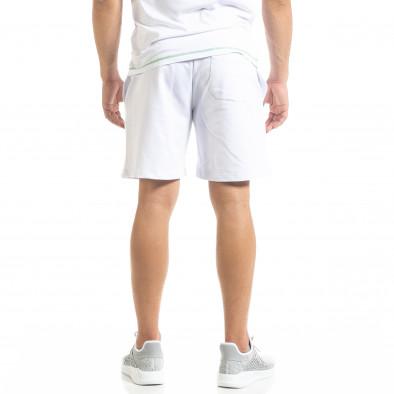 Бели мъжки шорти Compass tr010720-10 3