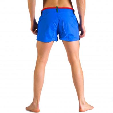 Мъжки сини бански с бандаж it250416-64 3