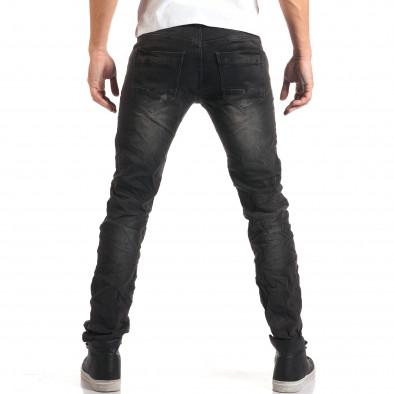 Мъжки сиви дънки с малки скъсвания it160916-18 3