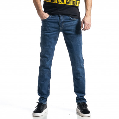 Long Slim мъжки сини дънки tr010221-32 2