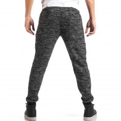 Мъжки тъмно сиви потури с ципове на джобовете it160916-46 3