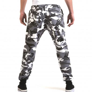 Мъжки сиви камуфлажни потури it090216-60 3