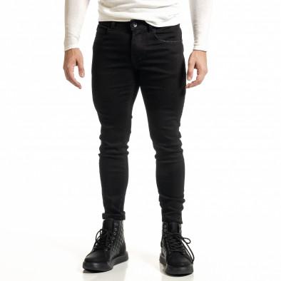 Basic мъжки черни дънки Capri fit it231220-23 2