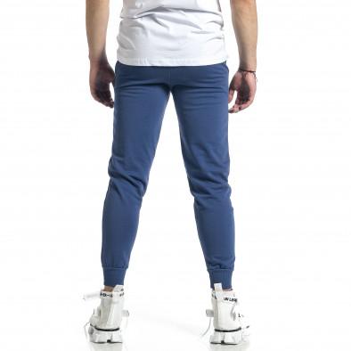 Basic памучно мъжко долнище в синьо it270221-16 3