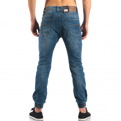 Мъжки летни дънки с еластични маншети на крачолите it160616-34 3