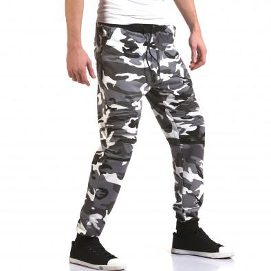 Мъжки сиви камуфлажни потури it090216-60 4