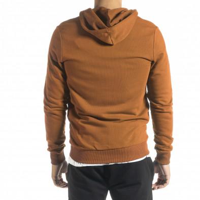 Basic мъжки суичър цвят камел tr300821-1 3