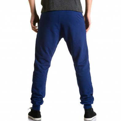 Мъжки сини потури с ципове на крачолите DelPiero 5
