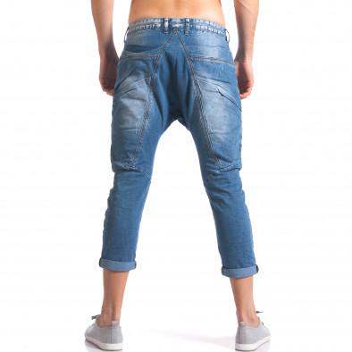 Мъжки дънки с големи яки джобове отпред ca110215-33 3
